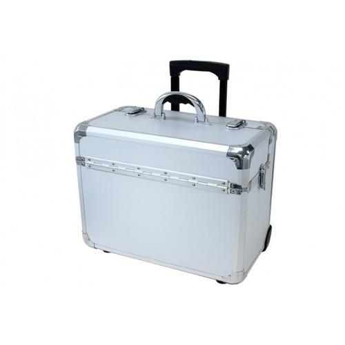 t z maleta con ruedas case apl-910t silver dot apl910t-sd