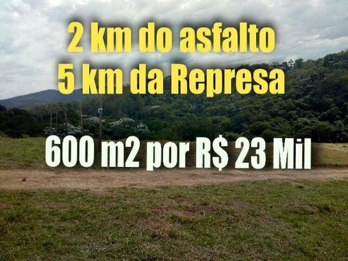 t01 lotes 600m² rodovia dom pedro i acesso km 39