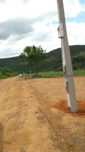 t01 terrenos c/ otima topografia, 300 m do asfalto