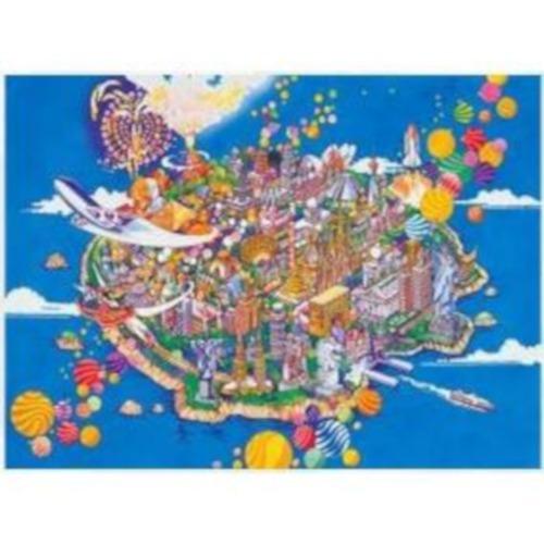 t050-081 maravillas del mundo rompecabezas 500 piezas tomax