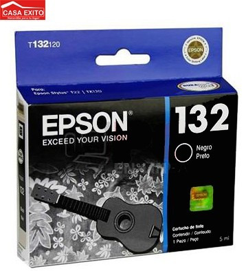 t132120 epson 132 black sts t22/tx120 180pag