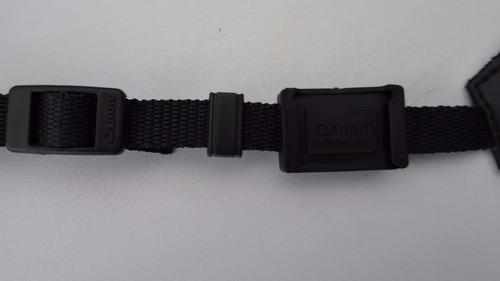 t4i - alca de pescoco camera seguranca  ombro para canon