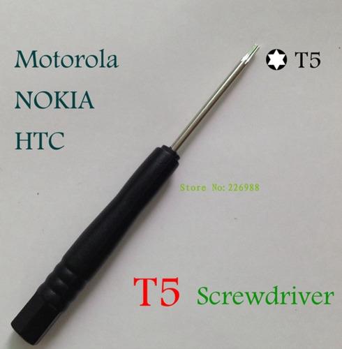 t5 torx destornillador para motorola htc nokia nuevo