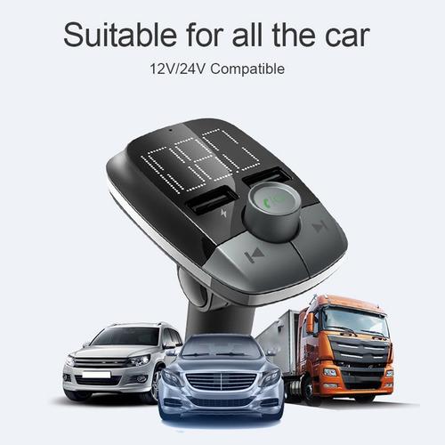 t50 carro mãos-livres sem perdas mp3 player de vídeo e áudio