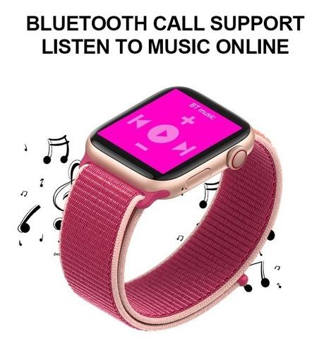 t500 smartwatch reloj inteligente banda cambiable llamadas
