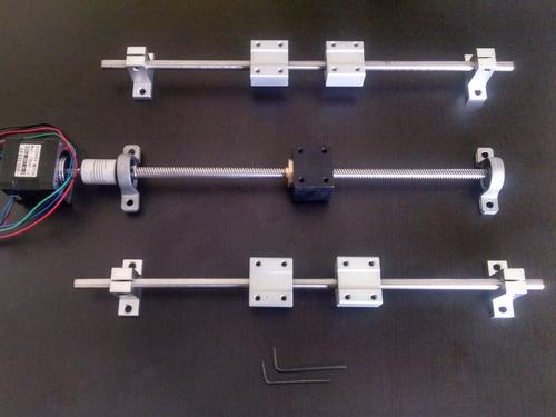 t8 tornillo trapezoidal 800mm 8mm avance cnc arduino 3d kits