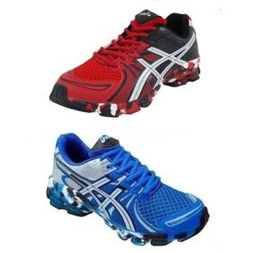 57703827213 Tenis Asics Gel Vermelho - Esportes e Fitness no Mercado Livre Brasil