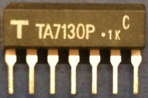 ta7130 ta 7130 - fm inter-frequency (if) amplifier...