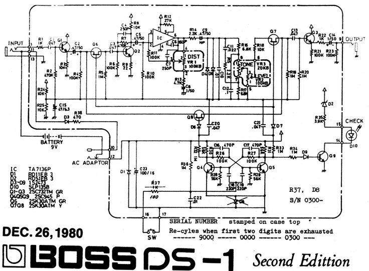 ta7136 ta7136p ta7136ap ta7136p1 chorus boss ce-1