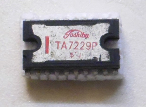 ta7229 ta 7229 - 3.9w power amplifier 20p