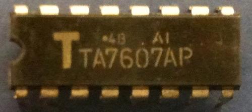 ta7607 ta 7607 - pif+aft reverse agc 16p