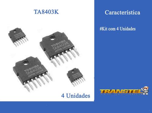ta8403k kit com 4 unidades