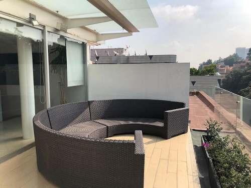 tabachines, ph de 2 pisos c/gran terraza e inmejorable vista