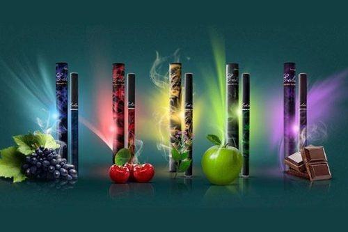 tabaco electrónico super slim de lujo 500 fumadas