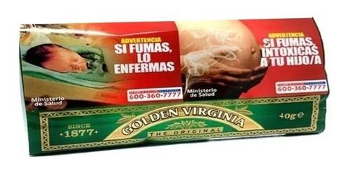 tabaco golden virginia 2 de 40 gramos c/u por $13990