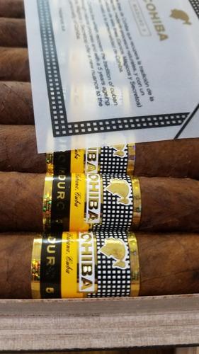 tabaco habano cohiba maduro 5 genios caja 25