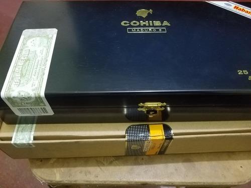 tabaco habano cohiba maduro 5 magicos 100% original