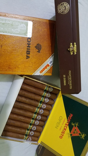 tabaco habano montecristo open master