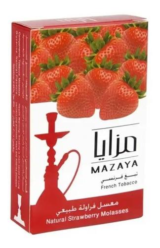 tabaco narguile/hookah /mazaya todo sabores /50 grs