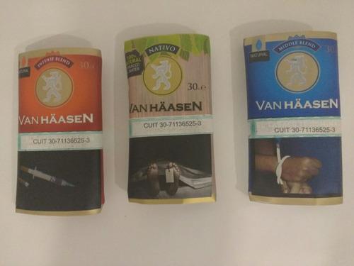 tabaco para armar van haasen en sus 4 variedades