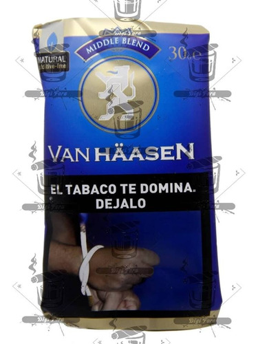 tabaco para armar van haasen middle.
