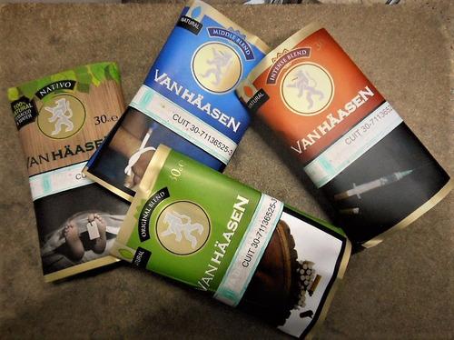 tabaco para armar // van haasen // middle  blend