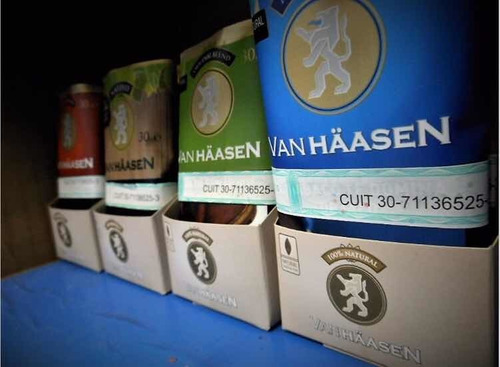tabaco para armar // van haasen // x 20