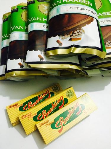 tabaco para armar x 10 // natural / + 5 papeles de regalo