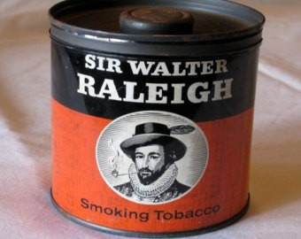 tabaco para pipa  sir walter raleigh