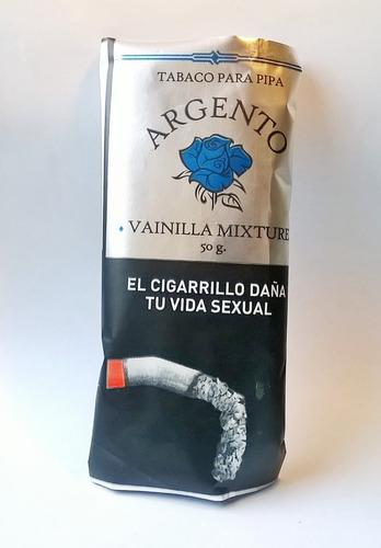tabaco pipa argento vainilla tabacos p/ fumar pipas natural
