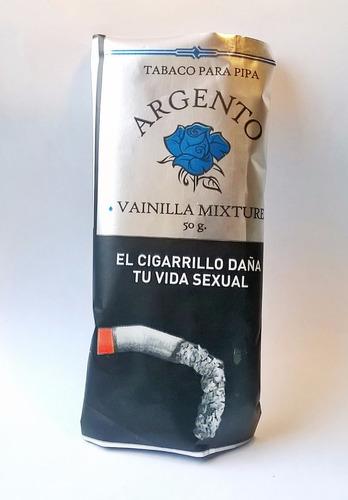 tabaco pipa argento vainilla virginia x5 para pipas tabacos