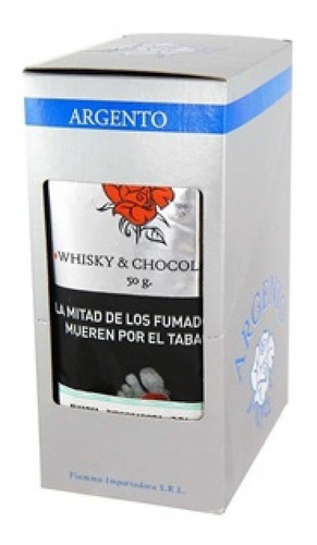 tabaco pipa argento whisky chocolate pack x10 pipa tabacos