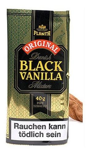 tabaco pipa black vanilla planta vainilla tabacos pouch