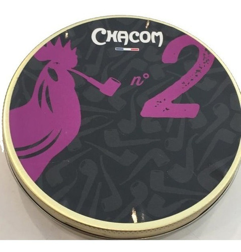 tabaco pipa chacom numero 2 lata para fumar pipas tabacos