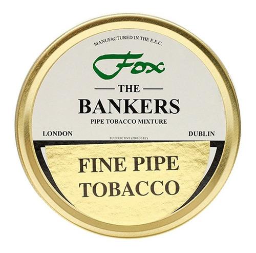 tabaco pipa james fox bankers lata p/ fumar pipas tabacos