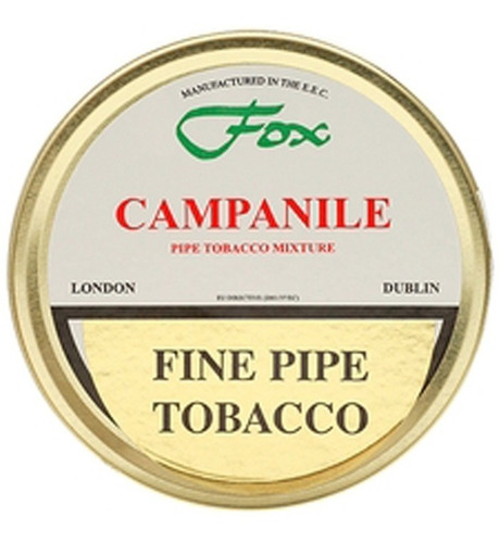 tabaco pipa james fox campanile lata p/ fumar pipa tabacos