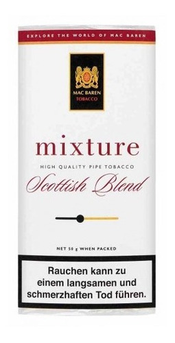 tabaco pipa mac baren mixture scottish blend tabacos pipas
