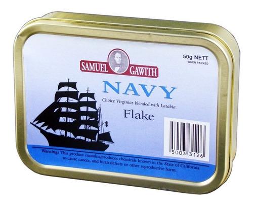 tabaco pipa navy flake samuel gawith lata p/ fumar tabacos