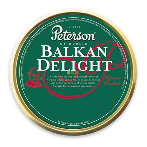 tabaco pipa peterson balkan delight lata para pipas tabacos