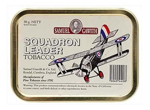 tabaco pipa squadron leader samuel gawith lata fumar pipas