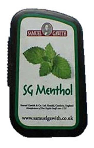 tabaco snuff  mentol menta rape menthol samuel gawithsniff
