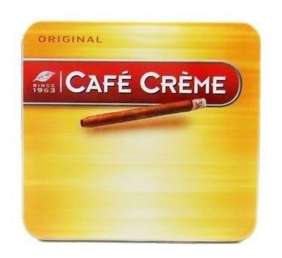tabacos cafe creme / 10 tabaquitos  habanos puros cigarro