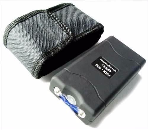 tabano electrica taser pistola defensa pnal 20000kv + carnet