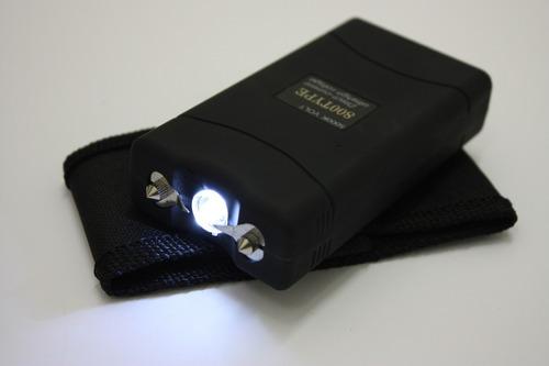 tabano electrico defensa taser pistola stun cuadrado 5000kv
