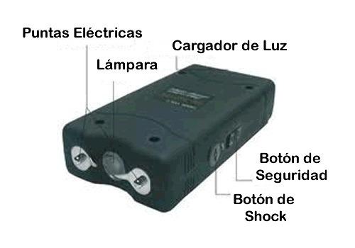 tábano paralizador electrico taizer defensa personal 12000kv