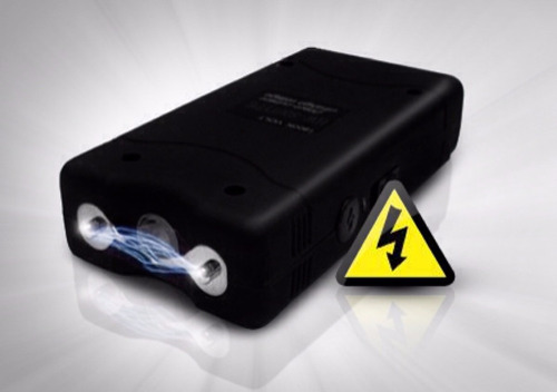 tabano taser electrico 20.000 kvt paralizador + carnet porte