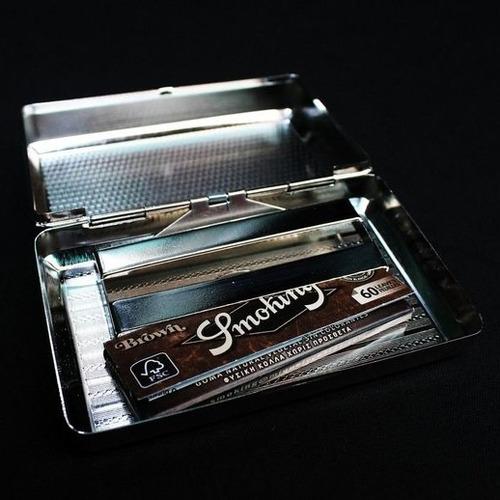 tabaquera smoking caja armado cigarrillos tabaco para armar