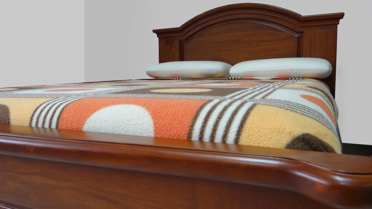 Tabebuia dormitorios cama g nesis madera s lida u s - Cama dosel madera ...