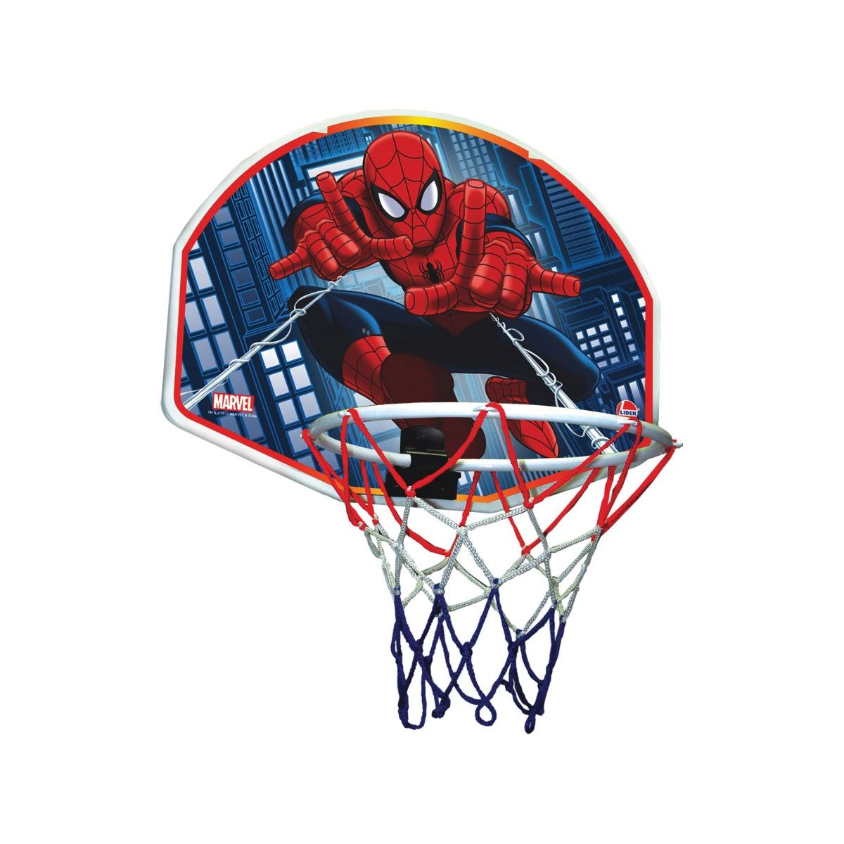 Tabela De Basquete Spider-man Tabela+bola - R  116 52838398bca80