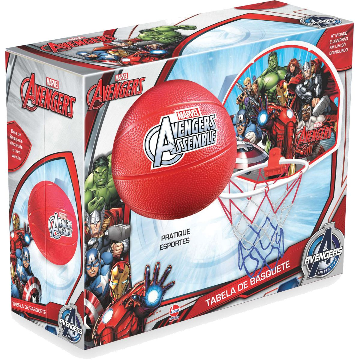 Tabela De Basquete The Avengers Tabela+bola - R  116 867c61bbe3260